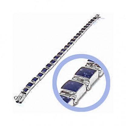 Sterling Silver Mini Module Hinge Bracelet