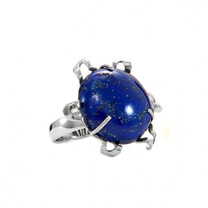 Ribbons Lapis Lazuli Cabochon Ring