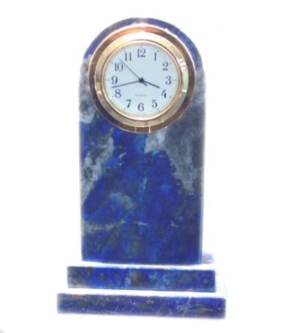 Tall Lapis Lazuli Clock