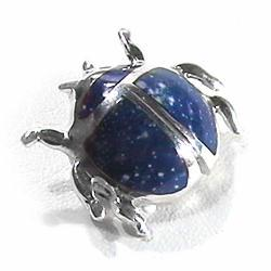 Sterling Silver Scarab Pendant