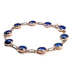 18K Gold Chained Bracelet
