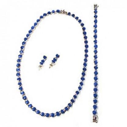 Classic Round Module Lapis Lazuli Set
