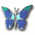 Multi-Stone Animal Brooches