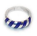 Sterling Silver Zebra Ring