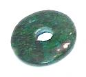 Malachite Donut Pendant