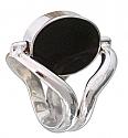 Sterling Silver Reversible Gemstone Ring