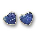 Sterling Silver Heart Semicollar