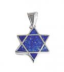 Star of David Lapis Lazuli Charm
