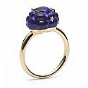 Vermeil and Lapis Lazuli Cloud Ring