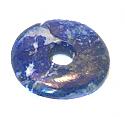 Lapis Lazuli Donut Pendant