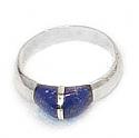 Grain Sterling Silver Ring