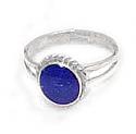 Medium Open Link Sterling Silver Ring