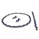 Art-Deco-Lapis Lazuli Classic Set