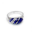 Three Band Crown Ring