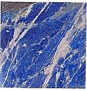 Square 10 cm Lapis Lazuli Tiles